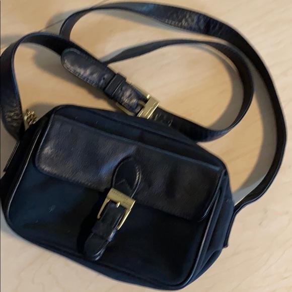 Ralph Lauren nylon/leather Crossbody bag